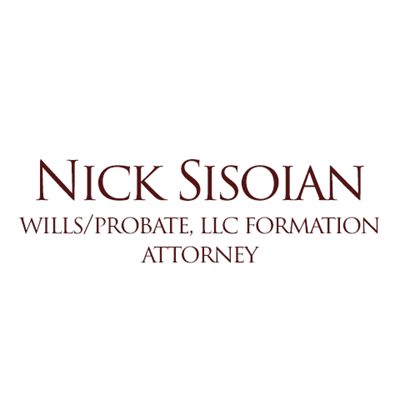 Nick Sisoian: Wills/LLC/Probate Attorney